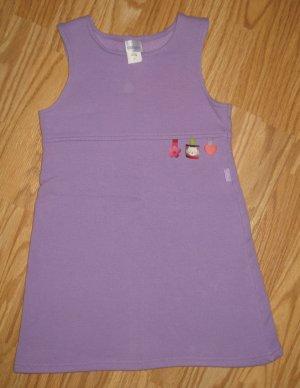 Carters Purple Fleece Dress
