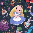 Disney WonderGround Gallery Alice in Wonderland Postcard by Bill Robinson NEW