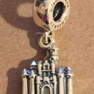 Disney Pandora Disneyland Sleeping Beauty's Castle Princess Aurora Silver Charm New