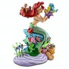 Disney Parks The Little Mermaid Ariel and Friends Medium Big Fig Figure NEW!