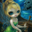 Disney WonderGround Tinker Bell at Skull Rock Print by Jasmine Becket-Griffith