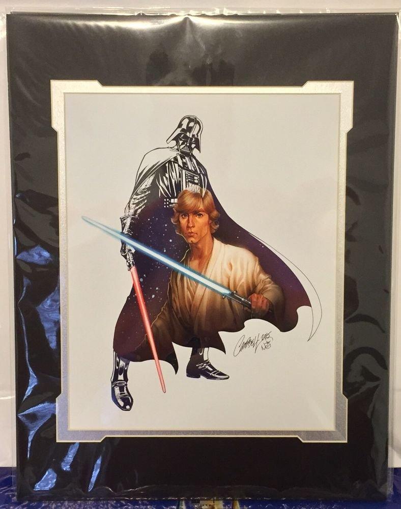 Disney WonderGround STAR WARS The Force Within Print JScott Campbell