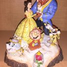 Disney Parks Jim Shore Traditions Beauty And The Beast Tale As Old As Time NEW!