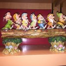 Disney Parks Jim Shore Traditions Seven Dwarfs Homeward Bound NEW IN BOX!