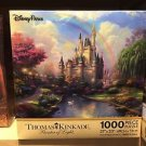 Thomas Kinkade Cinderella's Castle Puzzle 1000 Pieces Disney Theme Parks NEW