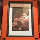 Disney Parks Exclusive Mickey Beveled Wood Photo Frame 5 x 7 NEW WITH OUTER BOX