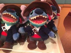 Disney Parks Halloween Party Stitch Dressed like A Pirate Plush Doll NEW NWT