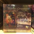 Disney Parks 1000 pc Pirates of the Caribbean 2-Sided Puzzle Sealed 27x20
