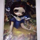 DISNEY WONDERGROUND Snow White In The Forest Postcard by Jasmine Becket-Griffith