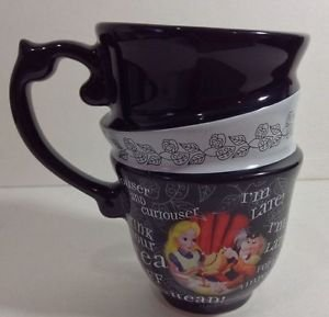 NEW Disney Parks Alice in Wonderland Triple Tea Cup Set MAD TEA PARTY(SINGLECUP)