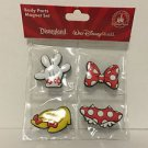 New Seal Authentic Original Disney Parks Minnie Mouse Body Parts Magnet 4 Pc Set