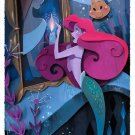 Disney WonderGround Gallery Mermaid Ariel What's A Fire Postcard by Brittney Lee