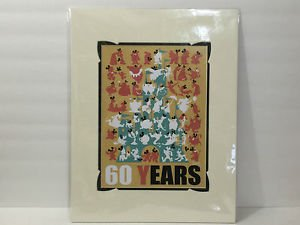 DISNEY D23 Expo 2015 Early Release 60 YEARS Print by Mike Peraza NEW