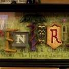 Disney Disneyland 60 Years ADVENTURELAND Icon Letters Shadow Box Dave Avenzino
