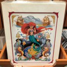 "Disney Parks Princess Ariel ""The Little Mermaid"" Deluxe Print by Bruce Boyer"