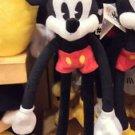 Disney Parks Mickey Mouse Long Arm Plush NEW