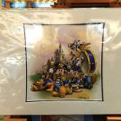 DISNEY PARKS EXCLUSIVE MICKEY BANDLEADER DELUXE PRINT BY CHARLES WISSIG NEW