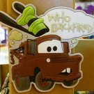 DISNEY PARKS DCA Pixar Cars Tow Matter Fridge Magnet NEW