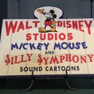 DISNEY PARKS WALT DISNEY STUDIOS MICKEY MOUSE AND SILLY SYMPHONY PLAQUE NEW