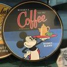 "DISNEY PARKS DISNEYLAND MICKEY'S COFFEE ""REALLY SWEELL"" DISNEY BLEND PLAQUE NEW"