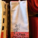 disney parks tinker bell dash of pixie dish towel set new with tag