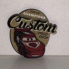 Disney Parks DCA Pixar Cars Lightning McQueen Since 2012 Champions Custom Magnet