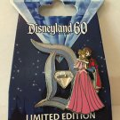 Disneyland 60th Diamond D Aurora & Prince Phillip Disney LE Pin of the Month NEW