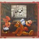 Disney Parks Mickey Mouse Main Street Cinema Show-off Print By Daniel Killen NEW