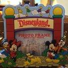 Disneyland Fab 5 Mickey Minnie Pluto Donald & Goofy Magnet Picture Photo Frame