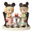Disney Parks Precious Moments IT'S A TREAT BEING WITH YOU Figurine Figure