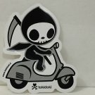 TOKIDOKI Authentic ADIOS SCOOTERINO Sticker NEW WITHOUT TAGS