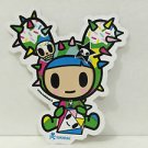 TOKIDOKI Authentic DUSTY COLOR Sticker NEW WITHOUT TAGS