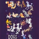 Disney WonderGround Gallery DISNEY DOGS Postcard by Bill Robinson NEW