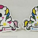 TOKIDOKI Authentic Unicorno Stellina and Margherita Sticker Set NEW(2 stickers)