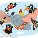 Disney WonderGround Gallery Dumbo Deluxe Print by Ryan Hungerford NEW