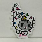 TOKIDOKI Authentic Carina Cat Sticker NEW WITHOUT TAGS
