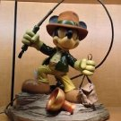 Disney Parks Mickey Mouse as Indiana Jones Medium Big Figurine NEW IN BOX