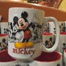 Disney Parks Mickey Mouse Moods Ceramic Coffee Mug Cup NEW