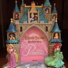 DISNEY PARKS CINDERELLA'S CASTLE GLITTER PHOTO FRAME NEW