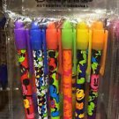 DISNEY PARKS 6 PACK PEN SET VARIOUS MICKEY MOUSE PATTERS & DESIGNS NEW SEALED