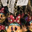 DISNEY PARKS MINNIE MOUSE MOVING ARMS KEY CHAIN NEW WITH TAGS
