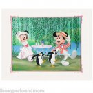 Disney Parks Mickey & Minnie Mouse A Jolly Holiday Deluxe Print by Alex Maher