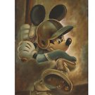 Disney Parks Batter Up Mickey Mouse Deluxe Print by Darren Wilson NEW