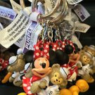 DISNEY PARKS MINNIE MOUSE WITH DUFFY THE BEAR KEYCHAIN NEW WITH TAGS