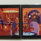 Disney WonderGround Gallery Star Wars A Wretched Hive Set of 2 Postcards by SHAG