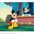 Disney Parks Mickey and Minnie Mouse Little Whirlwind Print by Don Williams NEW