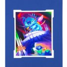 Disney Parks Stitch in Dreaming a Mountain of Trouble Print by Daniel Killen NEW