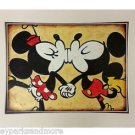 Disney Parks Mickey and Minnie Mouse Forever Deluxe Print by Kaminski NEW