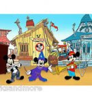 Disney Parks Mickey Mouse in Mickey Mouse Club Deluxe Print by Seppala NEW