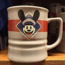 Disney Parks California Adventure Oswald The Lucky Rabbit & Ortensia Ceramic Mug Cup New